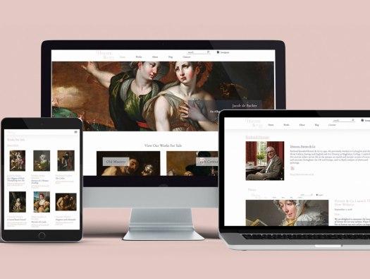 Herner & Co Website designed by Hamish Payne